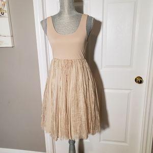 ALICE +OLIVIA silk ballerina dress